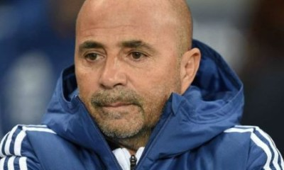 Argentina fired coach, Jorge Sampaoli after poor performance at the World Cup