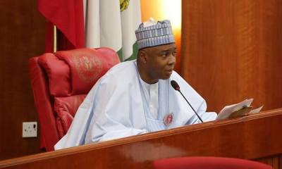 Saraki attacks Buhari, says anti-corruption fight more of propaganda.