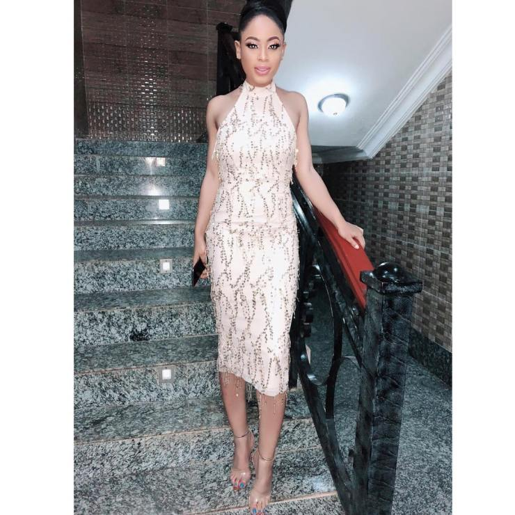 Watch BBNaija Nina Ivy on movie set with Nollywood stars 'BEWITCHED'- Video 1