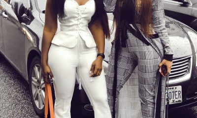 Nina slays with Cee-c shows her flat tummy, reveals the secret (Photos)
