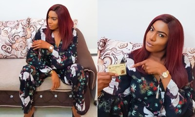 Nollywood actress Chika Ike displaces her PVC, advices all to do same