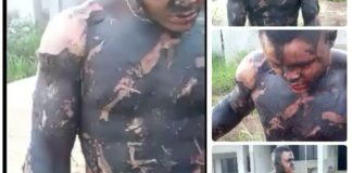 Transformer Cables Thief Escape Death after trying to steal oil Watch Video