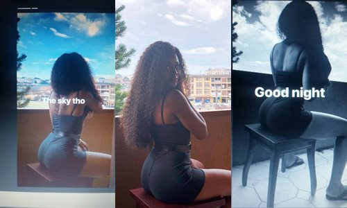 Alex Unusual flaunts her boot on Instagram, see how people reacted