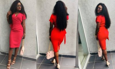 BBnaija Alex slays on red to get over acid threat feud - See Photos