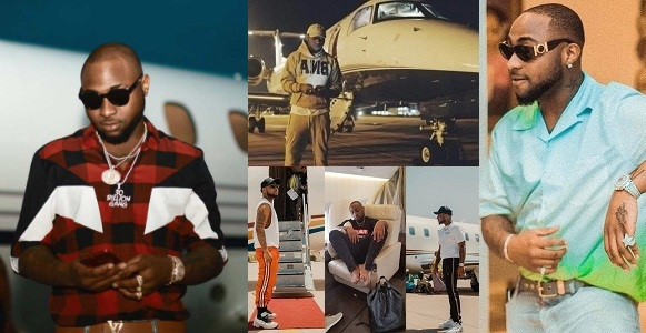 Nigerian Celebrity Davido gets delivery of his private jet in Lagos -See photos