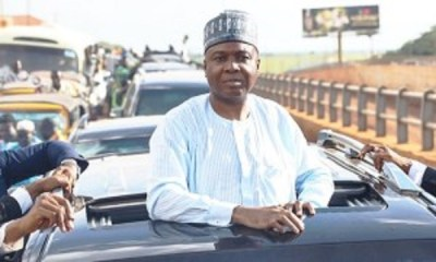 Bukola Saraki reacts to police invitation of Senators over PDP protest