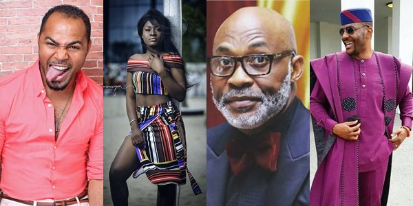 Alex Unusual sets up Ebuka, AY, Tobi, RMD, Ramsey Nouah, others for the grand premiere of MERRY MEN (Yoruba Demons)