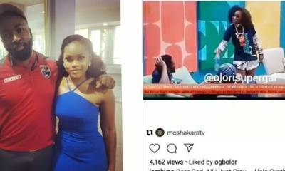 Trending: Byno slammed for sharing a photo with Ceec after insulting her