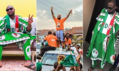 Singer Davido To Sign An Artiste For Replying To His Tweet On Osun Election