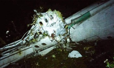 Plane carrying 20 people crashes in South Sudan