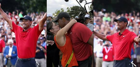 Golf Legend Tiger Woods Clinches His First Tournament Win After Five Years
