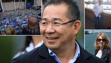 Leicester City owner, hero pilot and his aviator girlfriend, beauty queen and Thai billionaire's assistant confirmed dead in helicopter fireball horror