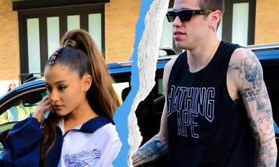 Ariana Grande and Pete Davidson Split Up So She Can 'Work on Herself'