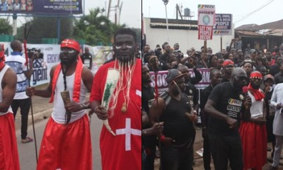 'Native Doctors', Stakeholders Protest Against Benin Electricity Distribution Company