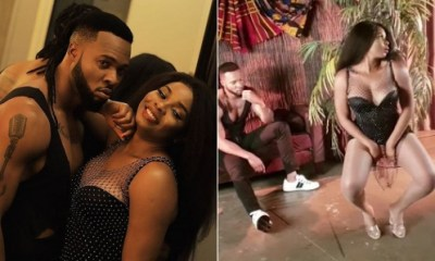 Nigerian Singer, Yemi Alade Twerks For Flavour, Fans React