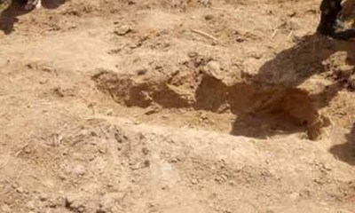 Nigerian Army uncovers shallow grave where corpse of the missing general was buried and exhumed