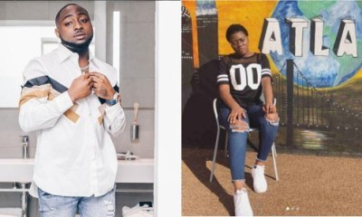 Davido unblocks teenage girl he bullied, promises to pay her fees