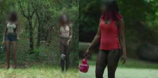 Paris park where Nigerian women are forced into prostitution (Video)