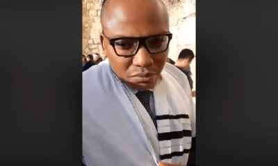 Second Live broadcast of Nnamdi Kanu from Jerusalem