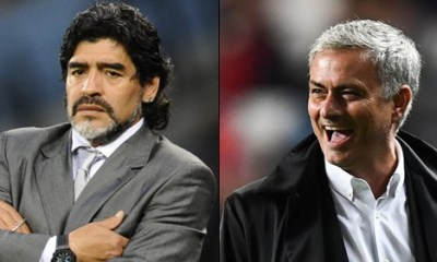 Mourinho Is The Best Football Manager In The World - Maradona