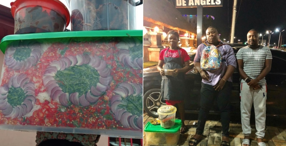 Imo Millionaire Big Boy, Cubana, Gifts Creative Pregnant Abacha Seller N100k, A Job And An Apartment