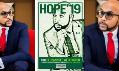 Banky W Dumps Music For Politics, To Run For A Seat In The Federal House Of Representatives