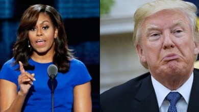 'I Will Never Forgive Trump For Putting My Family At Risk'- Michelle Obama says, Trump replies