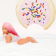 Nicki Minaj flaunts her curvy backside in a bubble bath to promote her latest single