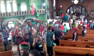 Prayers for peaceful elections interrupted by IPOB members in Aba