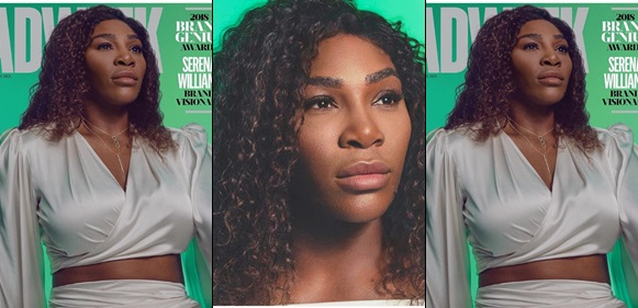 Serena Williams Still A Force To Reckon With As She Becomes Adweek's 2018 Brand Visionary