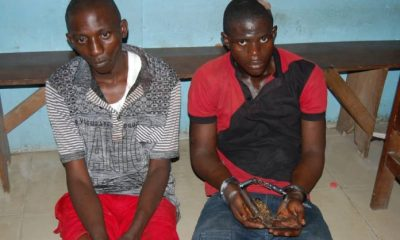 Suspected killers of 16-year-old Seiyfa Fred, arrested