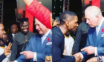 BBNaija Update: Tobi Bakre honored at Prince Charles' 70th birthday in Ghana