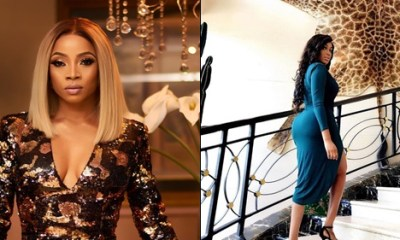 Toke Makinwa replies Dabota Lawson over marriage regret post