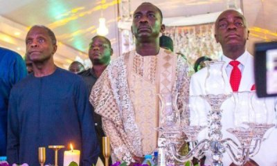 Read What Jonathan, Osibanjo, Oyedepo, Others said at Dunamis 'Glory Dome' Dedication
