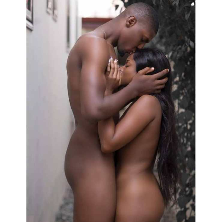 Actress Christabel Ekeh attacked after posing naked with actor - Photos
