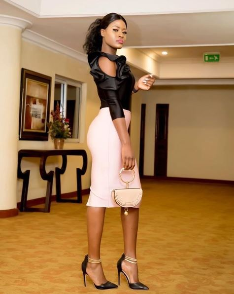 BBNaija's Alex Becomes A Model As She Makes Her Debut On The Runway