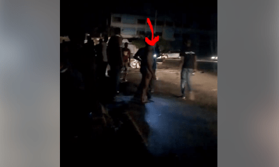 Keke Driver Strips Naked After Being Asked By Police To Pay N5000 (Watch Video)