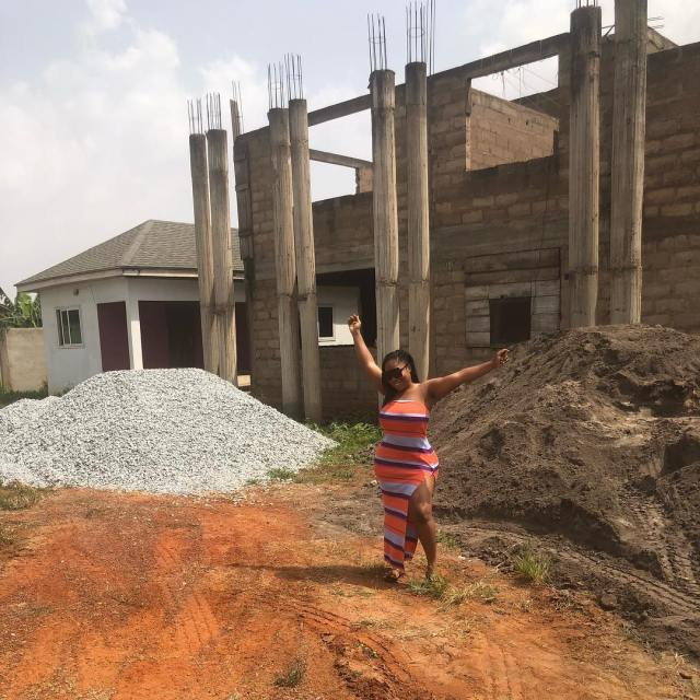 Actress Moesha Buduong Accused Of Sleeping With Married Men After Showing Off New Building (See Photos)