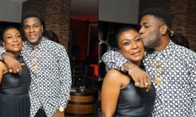 'Expect More Madness' – Burna Boy's Mother Goes Viral With Acceptance Speech For Son