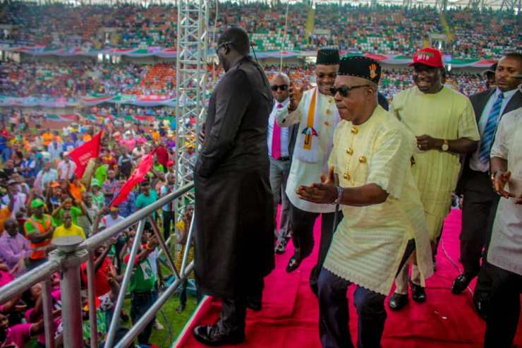 Akwa Ibom goes agog for Atiku ( See Photos)