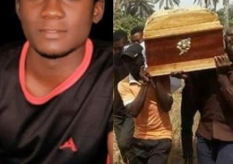 Photos: 19-year-old Kogi state University student killed in election violence has been laid to rest