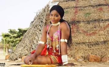 Beauty Queen Bella Sylva looks adorable in Ebonyi state costumes