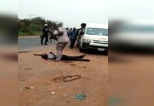 Viral Video shows Customs officer shoot man dead over alleged N5000