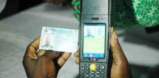 """HOW TO KNOW A PROGRAMMED OR MANIPULATED CARD READER.... Party agents should take note of the following as they get to the polling units. 1. Agent must arrive to your polling units as early as possible, at least before accreditation begins. Once accreditation begins, you won't be able to detect a manipulated card reader. 2. Upon arrival to your polling units, agent must verify the card reader brought to your unit for the election. Identify the Presiding Officer (PO) for your unit, and request him to present the card reader to the agents onground. 3. Request the PO to put on the Card Reader (if it is not already on), and request him/or her to click on """"query icon"""" on the smart card reader. 4. Check that the card reader shows zero """"0"""" upon clicking the query icon. If it shows zero, it is okay to be used for accreditation. If it shows any other figure before comencement of accreditation, the card reader has been pre programmed. 5. If confirmed that a figure other than """"0"""" is displayed, agent should raise alarm and inform agents of other parties, and no accreditation should take place in that unit until the card reader is cleared. Please this is very important as rigging in any election starts from the polling unit. Agents should be smart enough not to miss these Steps..."""