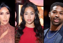 Kim Kardashian unfollows Jordyn Woods and Tristan Thompson following report that they hooked up (screenshot)