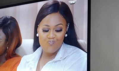 Watch Vandora's reaction after Cee-c revealed that 'Tobi and Alex had sex in SA' (Video)