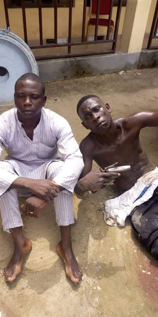Police arrest 19-year-old armed robber, others, recover arms and tricycle