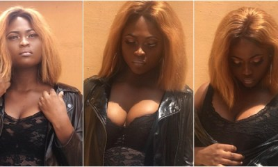 Nigerian Beauty Queen Freda Fred slay in new photos as she flaunts cleavage