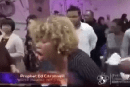 Viral video: Pastor prays out the spirit of ''oral sex'' from his female member