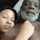 Reality star, Peter Thomas shares loved-up photo of himself and his girlfriend in bed